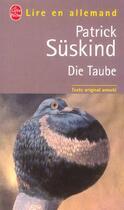 Couverture du livre « Die taube » de Patrick Suskind aux éditions Lgf