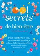 Couverture du livre « 1001 secrets de bien-être » de Carine Anselme aux éditions Prat Prisma