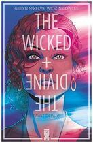 Couverture du livre « The wicked + the divine T.1 ; Faust départ » de Kieron Gillen et Jamie Mckelvie et Matthew Wilson et Clayton Cowles aux éditions Glenat Comics