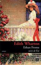 Couverture du livre « Ethan frome ; été » de Edith Wharton aux éditions Archipoche