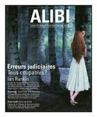 Couverture du livre « ALIBI N.8 ; les erreurs judiciaires en France » de Collectif aux éditions Ayoba