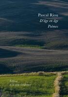 Couverture du livre « D'âge en âge » de Pascal Riou aux éditions Conference