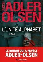 Couverture du livre « L'unité alphabet » de Jussi Adler-Olsen aux éditions Albin Michel