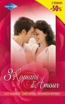 Couverture du livre « 3 romans d'amour ; kiriakis ; audacieuse méprise ; une jolie surprise » de Lucy Monroe et Cindi Myers et Shannon Waverly aux éditions Harlequin