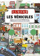 Couverture du livre « Zigzag ; les véhicules » de Makii aux éditions Casterman