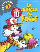 Couverture du livre « La jungle en folie » de Mic et Delinx et Godard aux éditions Dargaud