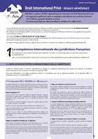 Couverture du livre « Droit international privé ; règles générales » de Stephane-Laurent Texier aux éditions Enrick B.