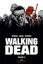 Couverture du livre « Walking dead ; INTEGRALE VOL.8 ; T.15 ET T.16 » de Charlie Adlard et Robert Kirkman et Cliff Rathburn aux éditions Delcourt