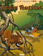 Couverture du livre « Les nouvelles aventures de Jimmy Tousseul t.7 ; le masque de l'esclave » de Benoit Despas et Daniel Desorgher et Stephen Desberg aux éditions Glenat