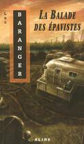 Couverture du livre « La balade des epavistes » de Luc Baranger aux éditions Alire