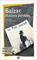 Couverture du livre « Illusions perdues » de Honoré De Balzac aux éditions Flammarion