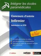 Couverture du livre « Concours d'entrée infirmier ; admission en ifsi » de Godrie/Guyot/Jeanne aux éditions Nathan