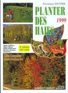 Couverture du livre « Planter des haies, brise-vent, bandes boisées, bosquets » de Dominique Soltner aux éditions Dominique Soltner