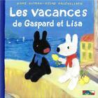 Couverture du livre « Les vacances de Gaspard et Lisa » de Anne Gutman et Georg Hallensleben aux éditions Hachette Enfants