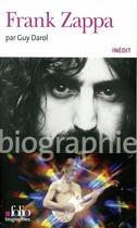 Couverture du livre « Frank Zappa » de Guy Darol aux éditions Gallimard