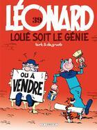 Couverture du livre « Léonard t.39 ; loué soit le génie » de Bob De Groot et Turk aux éditions Lombard