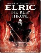 Couverture du livre « Michael Moorcock's Elric - Tome 1 - The Ruby Throne » de Julien Blondel aux éditions Titan Comics Streaming