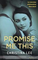 Couverture du livre « Between breaths t.1 ; promise me this » de Christina Lee aux éditions Black Moon