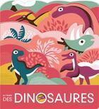 Couverture du livre « Au temps des dinosaures » de Laura Baker aux éditions Gallimard-jeunesse