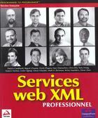 Couverture du livre « Wrox Service Web Xml Professionnels » de Bellinaso aux éditions Wrox Press