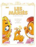 Couverture du livre « Les mariés ; coffret album + livre d'or » de Jim aux éditions Vents D'ouest