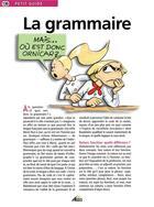 Couverture du livre « La grammaire » de Collectif aux éditions Aedis