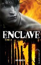 Couverture du livre « Enclave t.3 ; la horde » de Ann Aguirre aux éditions Black Moon