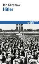 Couverture du livre « Hitler » de Ian Kershaw aux éditions Gallimard