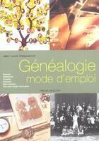 Couverture du livre « Genealogie Mode D'Emploi » de Jean-Louis Beaucarnot aux éditions Marabout