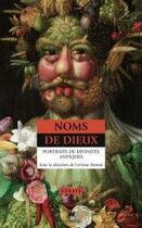 Couverture du livre « Noms de dieux ; portraits de divinités antiques » de Corinne Bonnet aux éditions Anacharsis