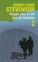 Couverture du livre « Voyages avec un ane dans les cevennes » de Stevenson R L. aux éditions 10/18