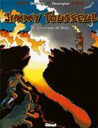 Couverture du livre « Les nouvelles aventures de Jimmy Tousseul t.8 ; le visage de dieu » de Benoit Despas et Daniel Desorgher et Stephen Desberg aux éditions Glenat