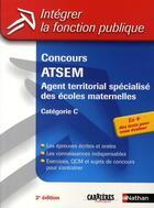 Couverture du livre « Concours ATSEM ; agent territorial spécialisé des écoles maternelles ; catégorie C (édition 2009) » de Grasser/Rebih-Jouhet aux éditions Nathan