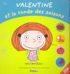Couverture du livre « Valentine et la ronde des saisons » de Langlois aux éditions Casterman