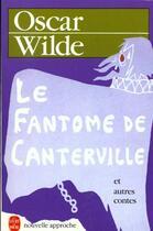 Couverture du livre « Le fantome de canterville - et autres contes » de Oscar Wilde aux éditions Lgf