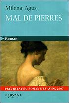Couverture du livre « Mal de pierres » de Milena Agus aux éditions Feryane