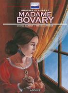 Couverture du livre « Madame Bovary » de Gustave Flaubert et Daniel Bardet et Michel Janvier aux éditions Glenat