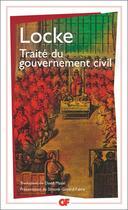 Couverture du livre « Traité du gouvernement civil » de John Locke aux éditions Flammarion