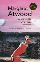 Couverture du livre « La servante écarlate » de Margaret Atwood aux éditions Robert Laffont