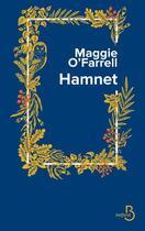 Couverture du livre « Hamnet » de Maggie O'Farrell aux éditions Belfond