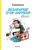 Couverture du livre « Gaston Lagaffe ; biographie d'un gaffeur » de Jidehem et Andre Franquin aux éditions Dupuis
