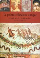 Couverture du livre « La peinture funeraire antique » de Collectif aux éditions Errance