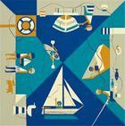 Couverture du livre « Fredun Shapur Puzzle Bord De Mer/ Seaside Multi View /Francais/Anglais » de Fredun Shapur aux éditions Piqpoq