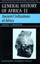 Couverture du livre « General history of africa t.2 ; ancient civilizations of africa » de G Mokhtar aux éditions Heinemann