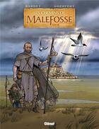 Couverture du livre « Les chemins de Malefosse T.23 ; poisons d'Italie » de Daniel Bardet et Brice Goepfert aux éditions Glenat
