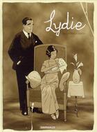 Couverture du livre « Lydie » de Zidrou et Jordi Lafebre aux éditions Dargaud