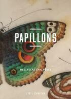 Couverture du livre « Papillons ; messagers éphémères » de Morwena Joly-Parvex aux éditions Bibliotheque Nationale De France