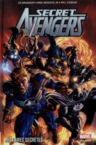 Couverture du livre « Secret Avengers T.1 ; histoires secrètes » de Collectif et Ed Brubaker aux éditions Panini