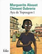 Couverture du livre « Aya de yopougon t.1 » de Marguerite Abouet aux éditions Gallimard