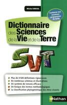 Couverture du livre « Dictionnaire des sciences de la vie et de la Terre » de Collectif et Michel Breuil aux éditions Nathan